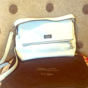 Kate Spade white leather purse
